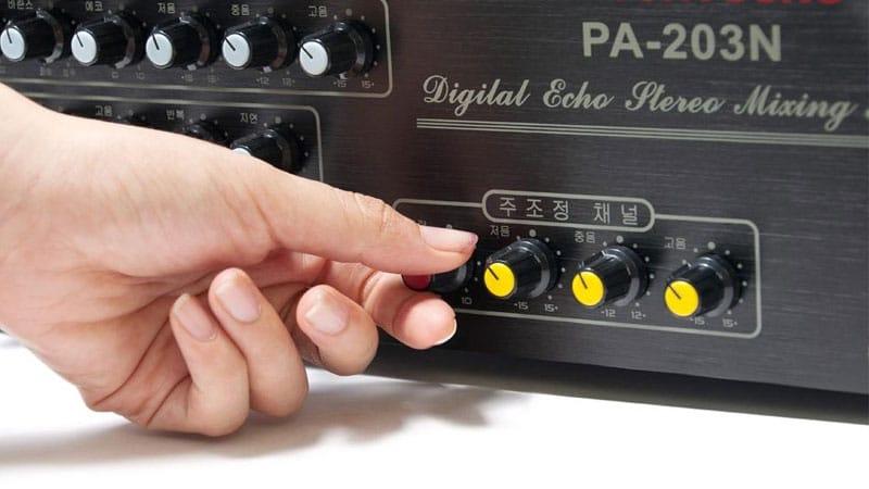Cách diều chỉnh các thiết bị âm thanh trong dàn âm thanh hội trường