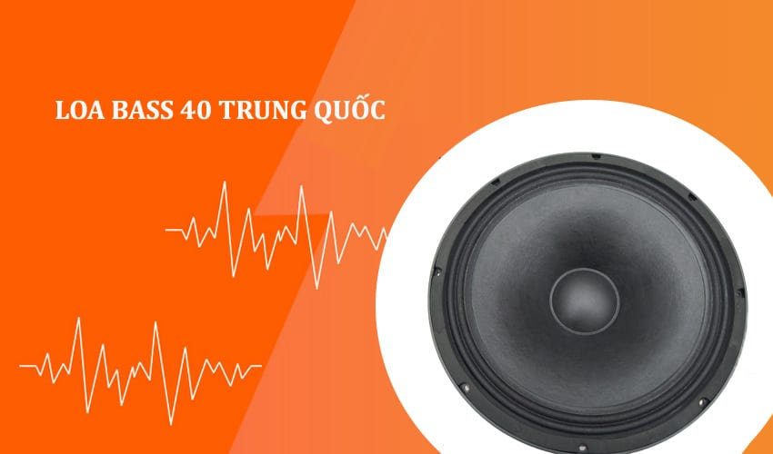 Loa bass 40 Trung Quốc
