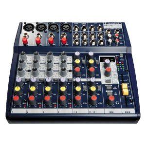 Bàn mixer Soundcraft Notepad 124