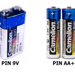 Pin micro không dây giá bao nhiêu tiền