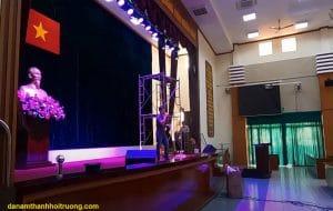 Dàn âm thanh hội trương sân khấu mini