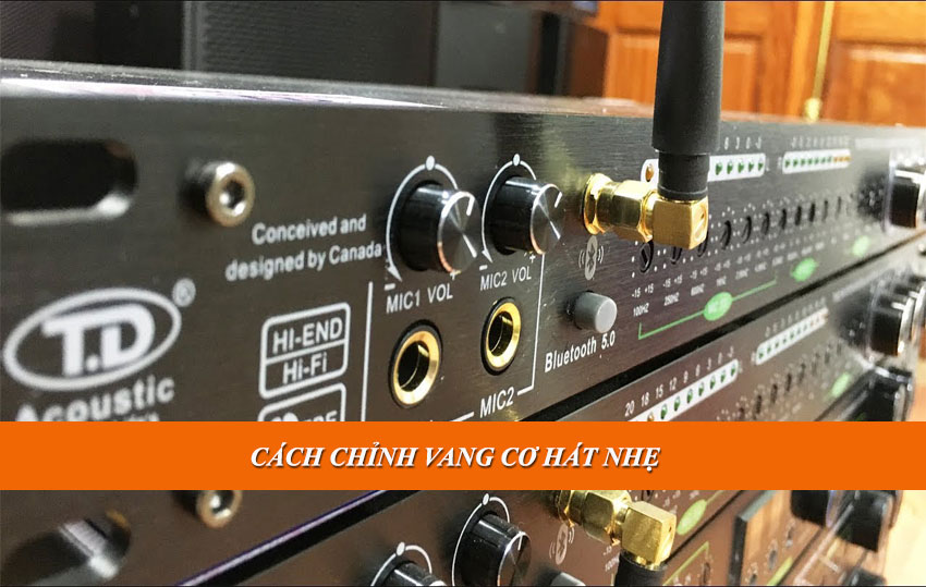 Cach chinh vang co hat nhe