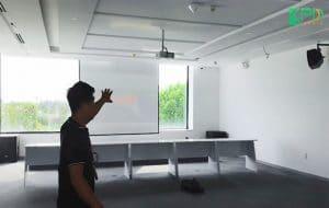 Hệ thống âm thanh cho hội trường công ty Deborah