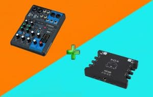 Cach ket noi Mixer voi Soundcard