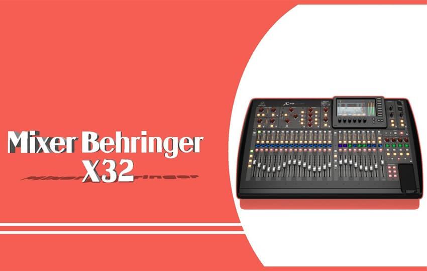 Mixer Behringer chính hãng