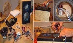 Cách đóng thùng loa bass 25, 20, 30, 40
