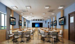 Thiết kế âm thanh phòng học hiện đại